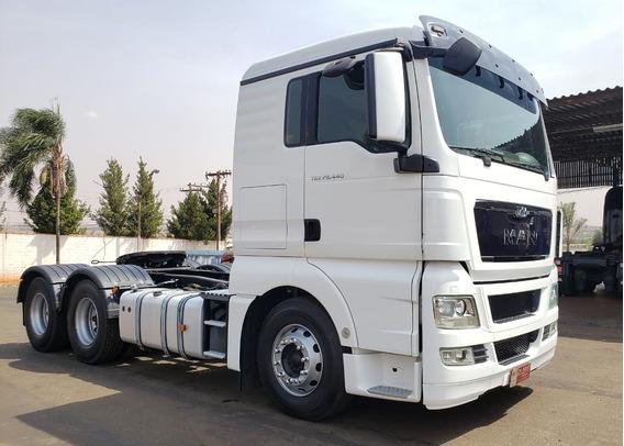 Caminhão Man Tgx 29.440 Ano 2016 6x4 De Santi Caminhões