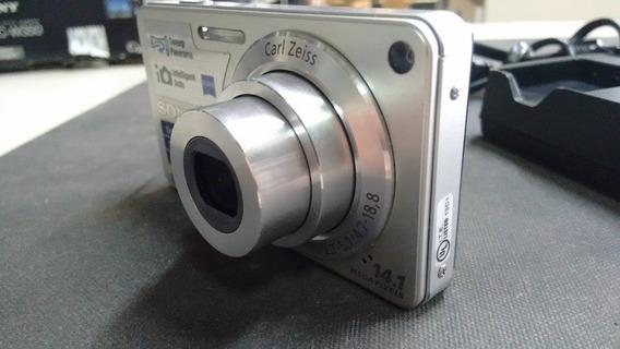 Câmera Digtal Cyber-shot Sony Dsc-w350, Com Caixa Original