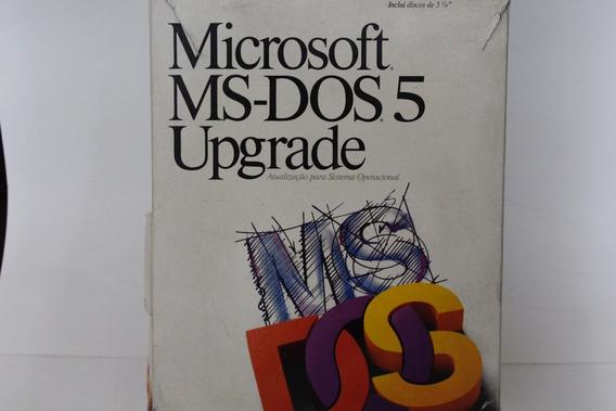 Ms Dos 5 Upgrade Original E Completo 7 Disquetes