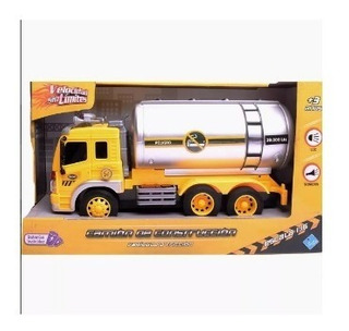 Camion Cisterna Con Luz Y Sonido