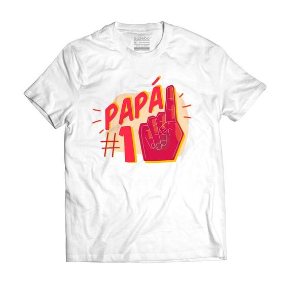 Playera Papa #1- Día Del Padre