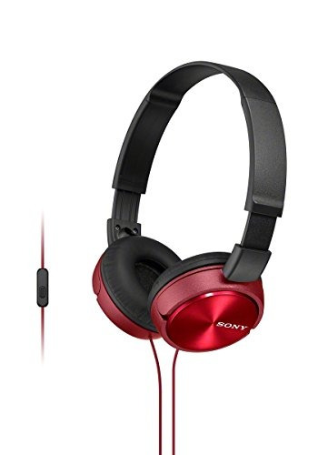 Audífonos Estéreo Sony Mdr-zx310ap / R Zx Series - Rojo
