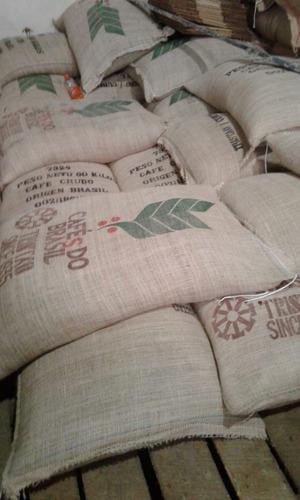 Bolsas De Cafe 100% Yute Arpillera O Mixtas 50% Nylon