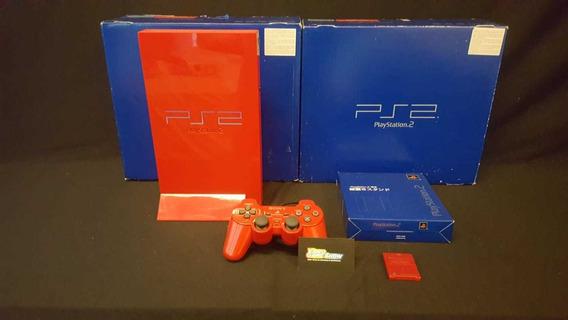 Console Playstation 2 Automobile Vermelho Videogame Raro