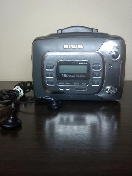 Rádio Walkman Aiwa Tx 377