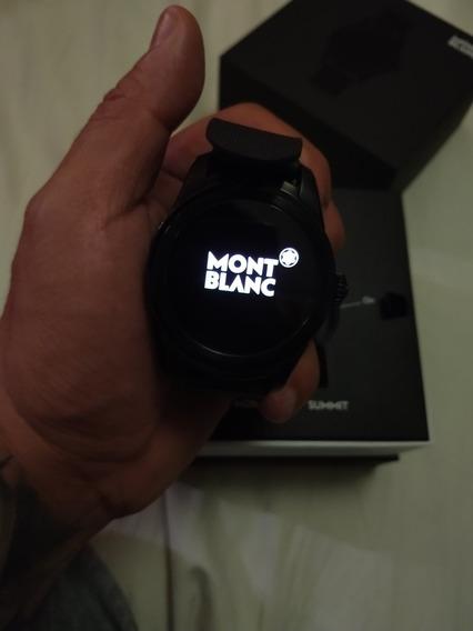 Smart Watch Reloj Montblanc Summit Seminuevo