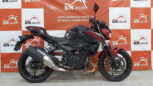 Imagem 1 de 9 de Kawasaki Z400 Abs 2020 Vermelha