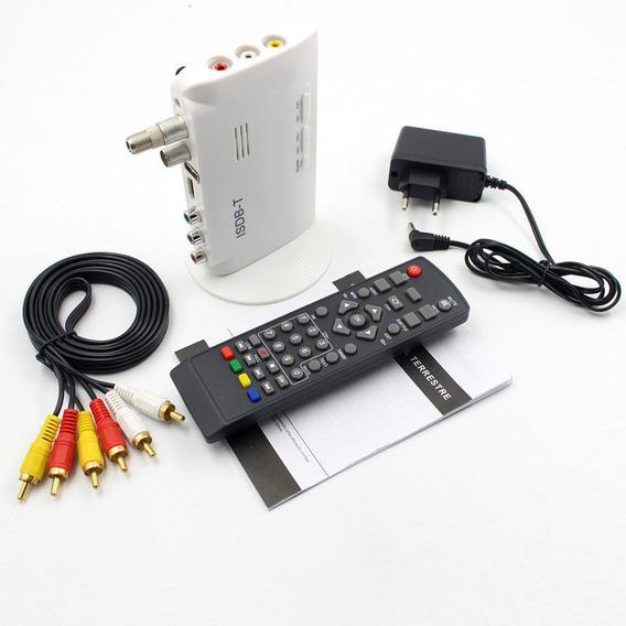 Isdb-t Digital Terrestre Conversor De Tv Caixa Receptor 1080