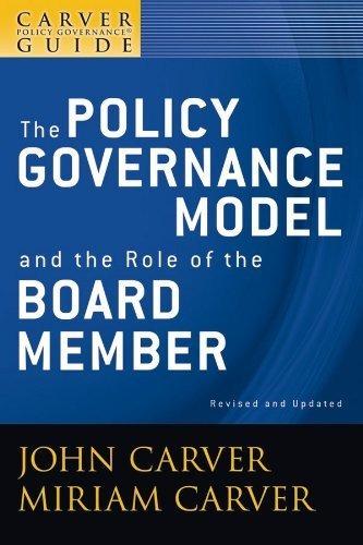 Imagen 1 de 3 de Una Guía De Gobernanza De Políticas De Carver, El Modelo De