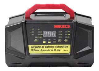 Cargador De Baterías Automático Con Arrancador 50 Amp 12v