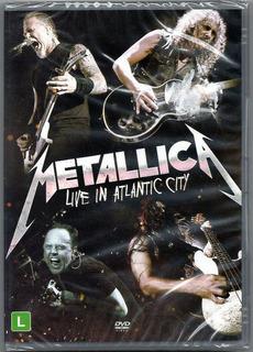 Dvd Metallica - Live In Atlantic City Lacrado Frete Gratis