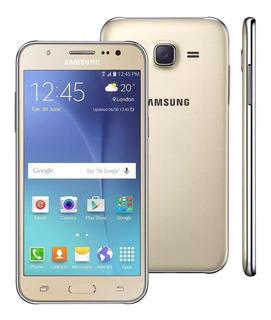 Samsung Galaxy J5 16gb Usado Com Burn In + Brinde E Nf