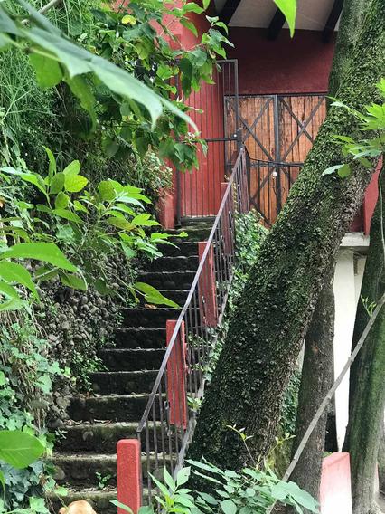 Loft 2 Recámaras Techo Doble Altura, Dentro De Boscoso Lugar