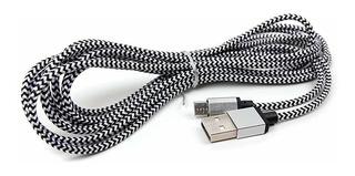 Duragadget Cable De Sincronización De Datos Micro Usb Trenza