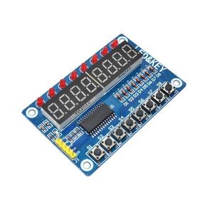 Módulo Display 7 Segmentos Tm1638 Avr 8-bit