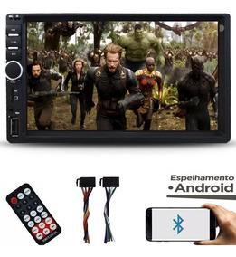 Central Multimídia Espelhamento Bluetooth Usb 2din Universal