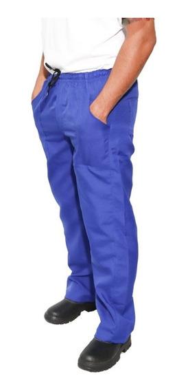 Calças Profissionais Azul Brim Pesado (kit 5 Uni )
