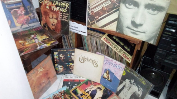 Lote 288 Discos Lp Rock Mpb Pop Sertanejo Trilhas Sonoras