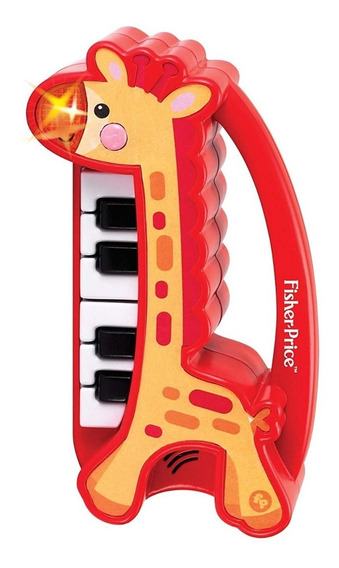 Fisher Price Piano Girafa Musical Juguetes Bebés Original