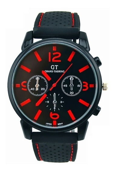 Relógio Masculino De Marca Importada Pulseira De Silicone