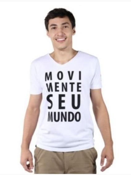 Camiseta Movimente Seu Mundo Masculina