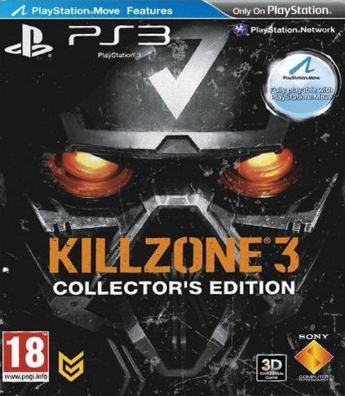 Killzone 3 Collectors Edition! Sem Juros! Loja Campinas