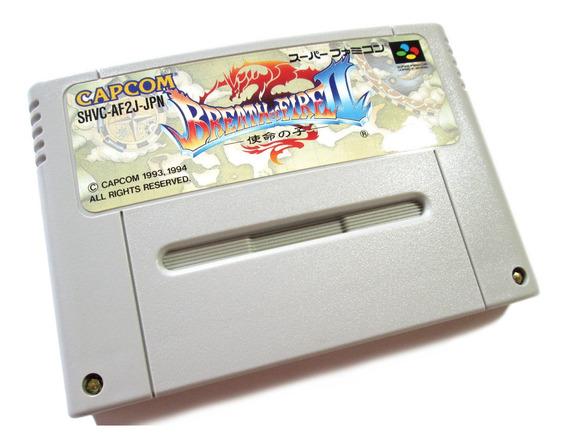 Breath Of Fire 2 Original Nintendo Para Super Famicom