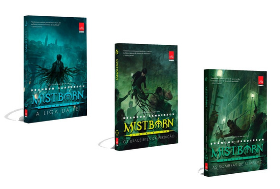 Kit 3 Livros - Série Mistborn - Segunda Era #