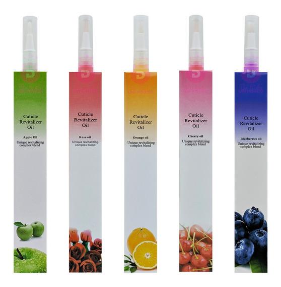 5 Óleo Hidratante Cutícula Tratamento Revitalizante Caneta