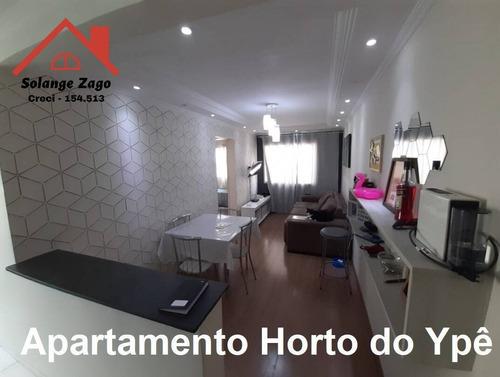 Apartamento Horto Do Ypê - 2 Dorms - 44 Mts - Condomínio Saint Acácio - 1709