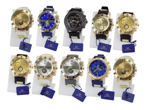 Kit 10 Relógio Masculino Original Atacado Revenda