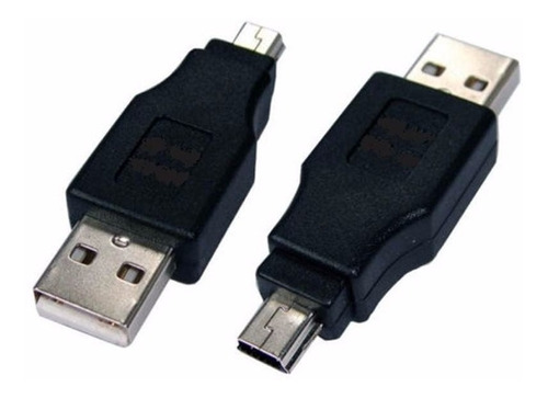 Puntotecno - Adaptador Usb Macho A Mini Usb Macho