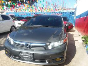 Honda Civic Ex-l 2012 Americano