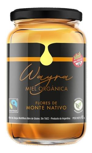 Imagen 1 de 10 de Miel Orgánica Del Monte 450 Grs. Miel Líquida. Certificada