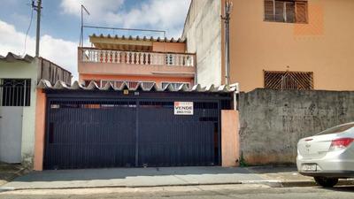 Casa Residencial À Venda, Parque Boturussu, São Paulo. - Ca0525