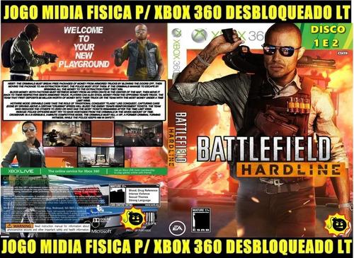 Battlefield Hardine (2 Disco) P/ Xbox 360 Desbloqueado Lt
