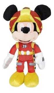 Peluche Mickey Serie Mickey Sobre Ruedas 50cm Original