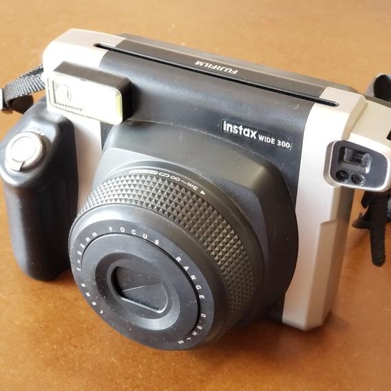 Câmera Instantânea Fujifilm Instax Wide 300 (pouco Uso)