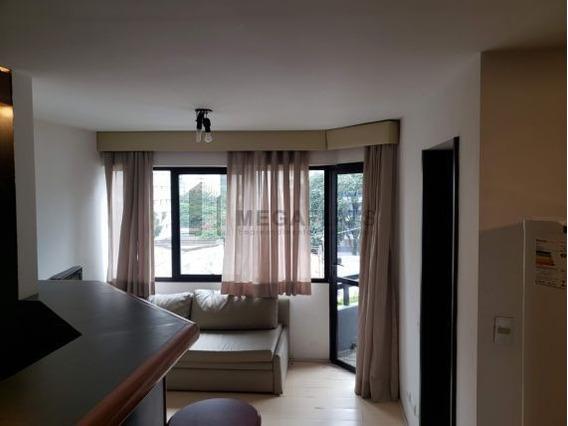 01457 - Flat 1 Dorm. (1 Suíte), Brooklin Novo - São Paulo/sp - 1457