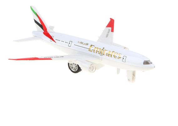 Brinquedo Modelo De Avião Da Emirates Para Crianças Pequenas