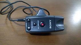 Controle Remoto Com Fio De Zoom, Foco E Rec Sony Rm-1bp