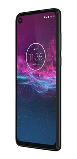 Smartphone Motorola One Action 128gb Azul Denim Câmera Tripla 12 Mp + 5 Mp + 16 Mp Tela 6,3 Xt2013-