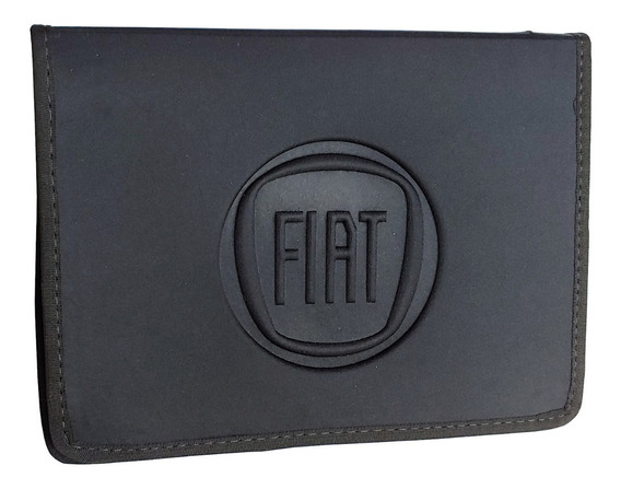 Case Rígido Capa Porta Manual E Documento Carro Crlv - Fiat