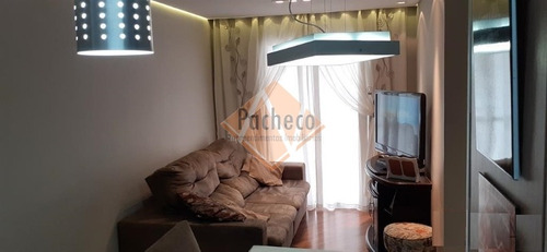 Imagem 1 de 30 de Apartamento Na Penha, 63m², 03 Dormitórios, 01 Suíte, 01 Vaga, R$ 370.000,00 - 2160