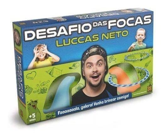 Jogo Desafio D.focas-luccas Neto 3639 Grow