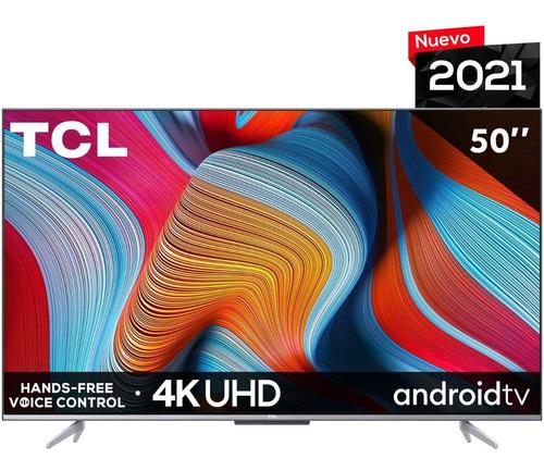 Imagen 1 de 6 de Tcl Pantalla 50  4k Uhd Android Tv Hdr10 60hz 3840 X 2160