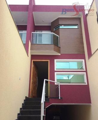 Sobrados Novos Residenciais À Venda, Vila Santa Isabel, São Paulo. - So0590