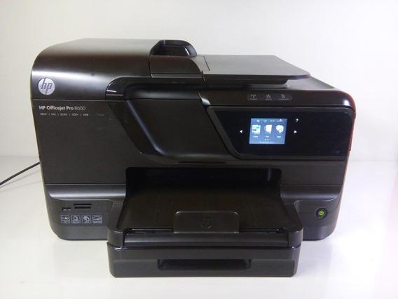 Multifuncional Hp Pro 8600 Com Bulk Frente E Verso Automatic
