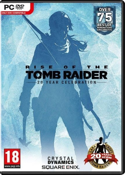 Rise Of The Tomb Raider + 2 Jogos ( Mídia Física) Pc - Dvd