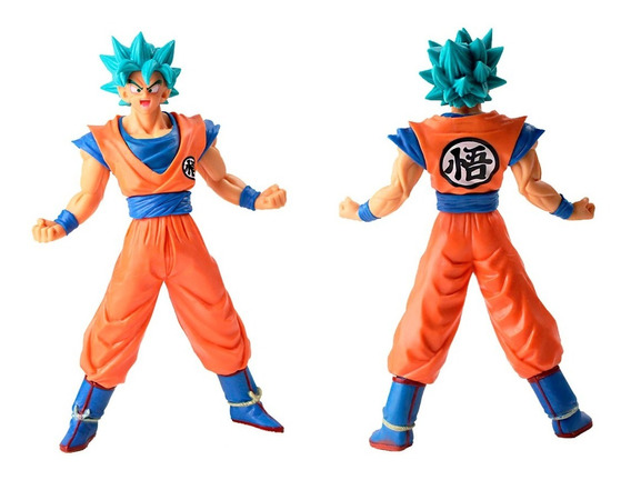 Boneco Dragon Ball Super Goku Jiren Sayajin Action Rose